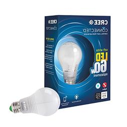 Cree Connected 60W Soft White 2700K Dimmable LED Light Bulb