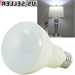 9W LED Cool Daylight White Standard Light Bulb E26 6000K 800