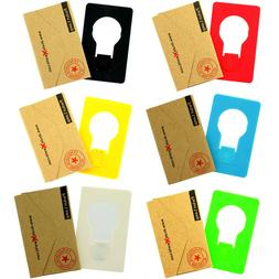 Credit Card Size Wallet Purse Pocket Portable Folding LED Ni