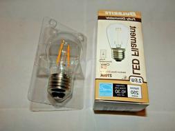 Bulbrite Dimmable 2.5W 2700K S14 Filament LED Bulb