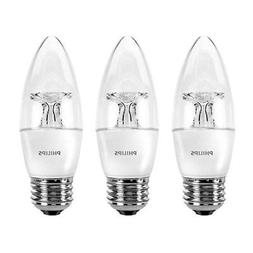 Philips Dimmable 40W B11 E26 120V Replacement LED Daylight L