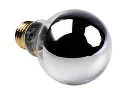Bulbrite Dimmable 5W 2700K Half Mirror A19 Filament LED Bulb