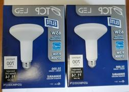 TCP Dimmable 65W Halogen Replacement  BR 30 LED Bulb Pack Of