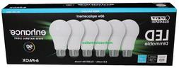 FEIT ELECTRIC DIMMABLE 8.8W LED Bulbs 60W Equivalent- 6 Pack