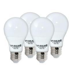 Bulbrite Dimmable 9 Watt 2700K A19 LED Bulb 4PK, JA8 Complia
