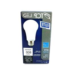 TCP Dimmable 10W 2700K A19 LED Bulb, Suitable For Fully Encl