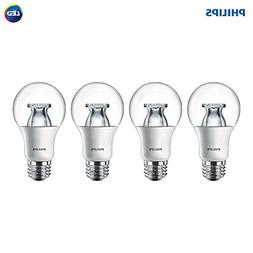 Philips LED Dimmable A19 Soft White Light Bulb with Warm Glo