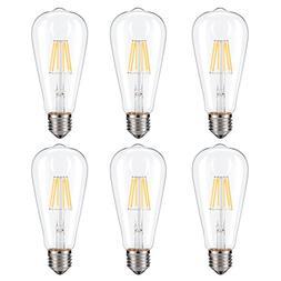 Dimmable Edison LED Bulb, Soft Warm White 2700K, Kohree 6W V
