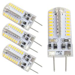 Dayker Dimmable G8 LED Light Bulb 3W JCD Type T4 G8 Base 25W
