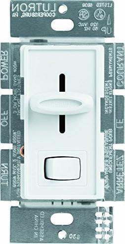Lutron Dimmer Switch, Skylark Light Dimmer, 600W Incandescen