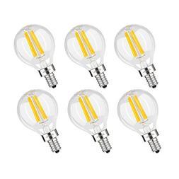 Albrillo E12 LED Candelabra Bulb 4W, 40 Watt Light Bulbs Equ