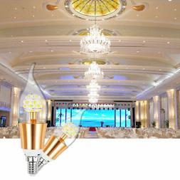 E12 LED Dimmable Filament Candelabra Light Bulb Chandelier F