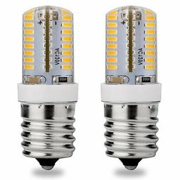 E17 LED Bulb, 120V AC, Warm White 3000K, 3 Watt, 25W Microwa