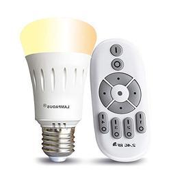 LAMPAOUS E26 LED Bulb Dimmable 8W Edison Light Bulbs 60W Equ