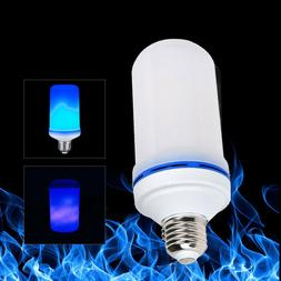 E26/E27 LED Flicker Flame Light Bulb Simulated Burn Fire Eff