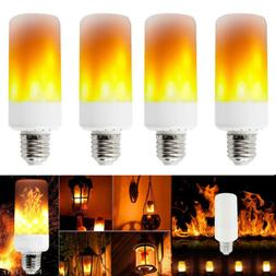 E26 LED Flicker Flame Light Bulb Simulated Burning Fire Effe