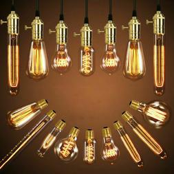E27 40W 220V Vintage Industrial Retro Edison LED Bulb Light