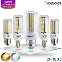 E27 E14 24 30 42 64 80 LED Light Bulb Smart IC Power 5730 SM
