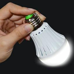 E27 Emergency Magic LED Light Bulb Rechargeable Intelligent