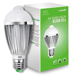 iRainy E27 Infrared Motion Sensor Pir Warm Light Bulb Lamp A