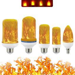 E27 LED Burning Flicker Flame Effect Fire Light Bulb Christm
