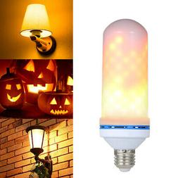 E27 LED Flame Effect Fire Light Bulb Flickering Flame Lamp A