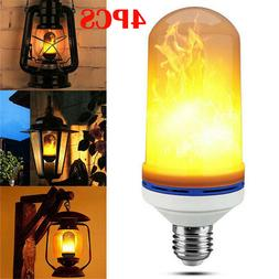 E27 LED Flicker Flame Light Bulb Simulated Burn Fire Effect