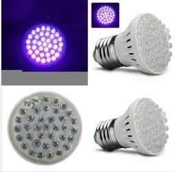 E27 Super Bright UV Ultraviolet Purple LED Flood Lights Lamp