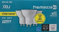 EcoSmart LED 35W Replacement Bright White GU10 Dimmable LED