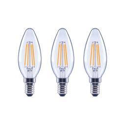 Ecosmart 40-Watt Replacement B11 Dimmable LED Candelabra Bas