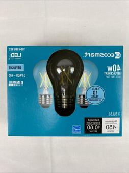 EcoSmart 40W Equiv. A15 LED Vintage Filament Dimmable Bulbs