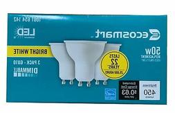 Ecosmart 50W Equivalent Bright White MR16 GU10 LED Light Bul