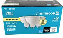 EcoSmart 50W LED Light Bulb GU5.3 MR1612V AC  Dimmable FRE