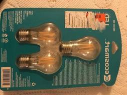 Ecosmart 60 led Edison Light Bulb - Yellow Filament