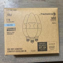 60-Watt Equivalent B11 Dimmable LED Light Bulb Daylight