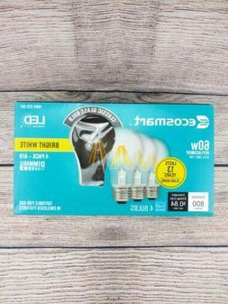 EcoSmart 60-Watt LED Light Bulb A19 Dimmable Vintage Style B
