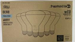 EcoSmart 65-Watt Equivalent BR30 Dimmable LED Light Bulb Day