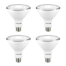 PAR38 Basics 90 Watt Equivalent Dimmable LED Light Bulb Daylight Pack of 6