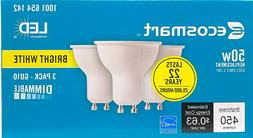 EcoSmart LED 50W Replacement Bright White GU10 Dimmable LED