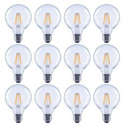 EcoSmart LED Light Bulb 40 Watt Equivalent G25 Dimmable Fila