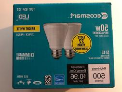 ECOSMART PAR20 Dimmable 50W Bright White LED Floor Track Spo