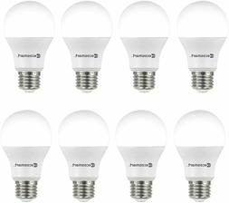 Ecosmart 60w replacement 9w Daylight LED - 8 Pack