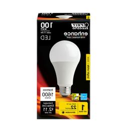 FEIT Electric  17.5 watts A21  LED Bulb  1600 lumens Bright