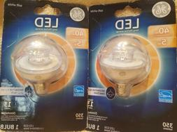 General electric Led Light Bulbs 40 W Lot Of 2
