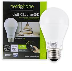 Enbrighten Z-Wave Plus Wireless Smart LED Bulb Dimmable 60-W