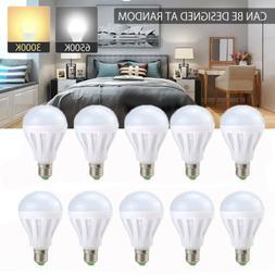 Energy Saving E27 LED Bulb Light 3W 9W Globe Lamp 110V