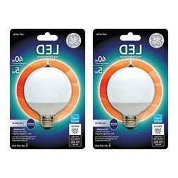 GE Energy-Smart Soft White G25 5W LED 40W Equivalent Light B