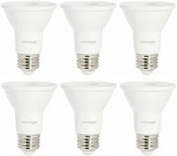 AmazonBasics 50 Watt Equivalent, Bright White, Dimmable, PAR