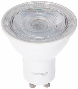 AmazonBasics 50 Watt Equivalent, Daylight, Dimmable, GU10 LE