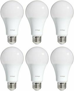 AmazonBasics 100 Watt Equivalent, Daylight, Dimmable, A21 LE